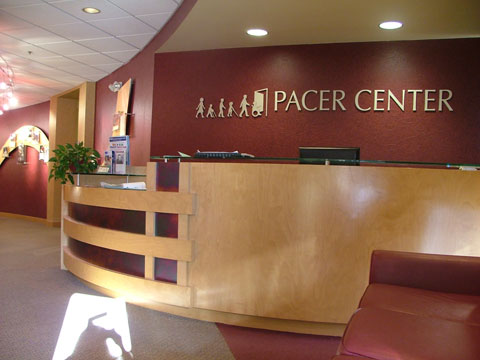 PACER's entryway