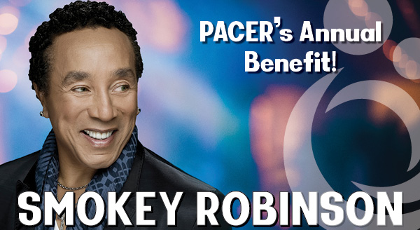 Smoke Robinson at PACER's Annual Benerit - Ticket Sales Open