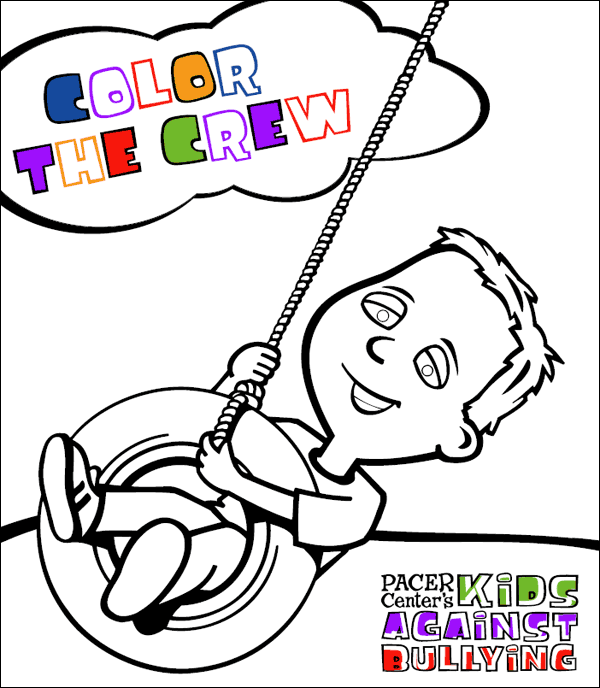 Coloring Book - National Bullying Prevention Center