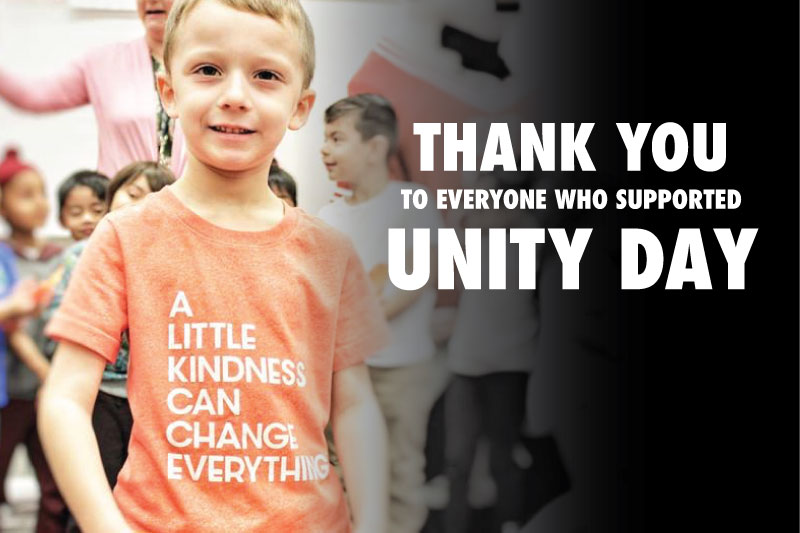 Thank You to everyone who supported Unity Day