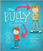 book cover for bully and the shrimp