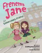 book cover for frenemy jane