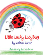 Book Cover for Little Lucky LadyBug