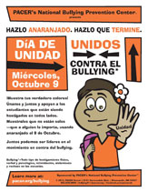 Download the Elementary School Spanish version of the Unity Day poster