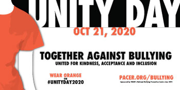 Image result for Unity Day - Wear and Share Orange on WED., OCT. 23, 2019