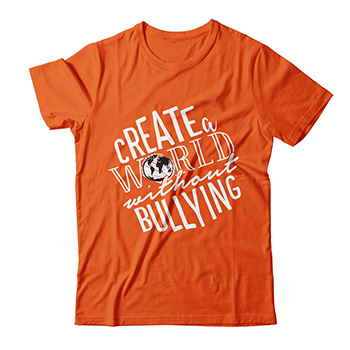 Create a world without bullying T-shirt