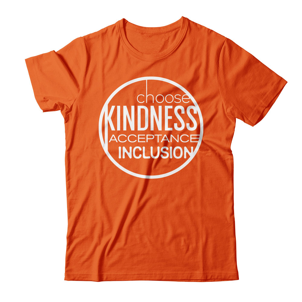Choose kindness, acceptance and inclusion T-shirt