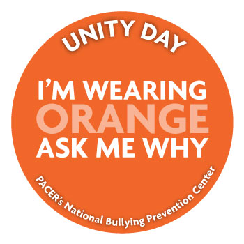 Why I'm wearing orange badge