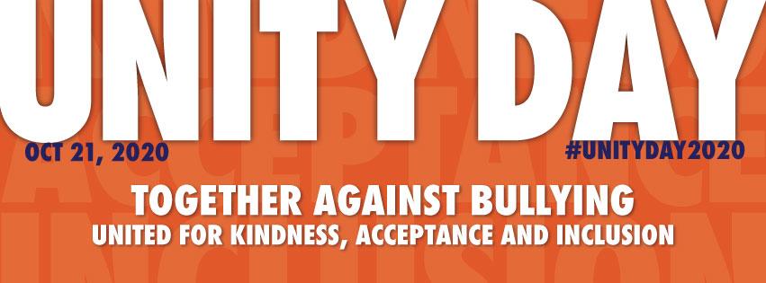 Unity Day -Wednesday, October 21, 2020- National Bullying Prevention Center