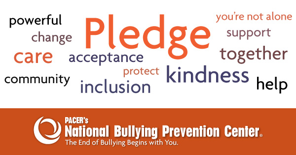 Bullying And Students With Disabilities >> Take the Pledge - National Bullying Prevention Center
