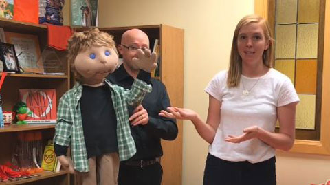 Kids Against Bullying Puppet Show - Meet Brad - Episode 3