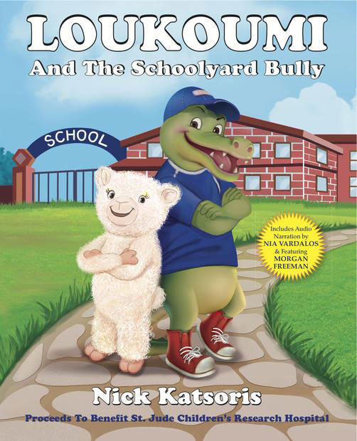 Book Cover for Loukoumi and the Schoolyard Bully