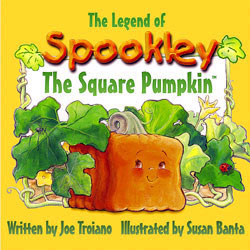 Book cover for The Legend of Spookley the Square Pumpkin