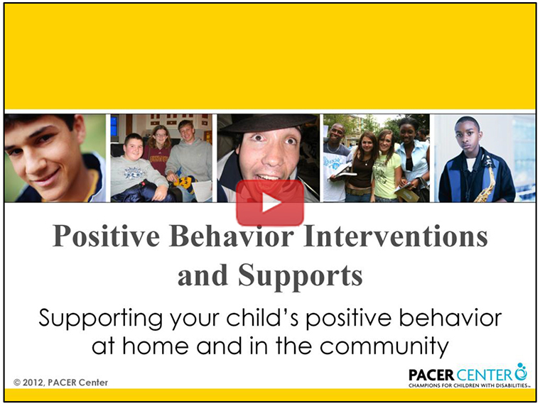 View -  Positive Behavior Interventions and Support video