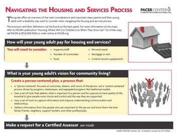 Navigationg the Housing and Services Process