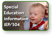 Special Education Information / IEP / 504 Plans