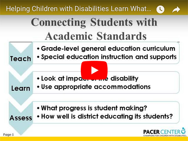 The Need For Services For Parents Of >> Parent Information Videos Trainings Pacer Center