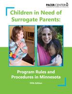 image of Children in Need of Surrogate Parents publication